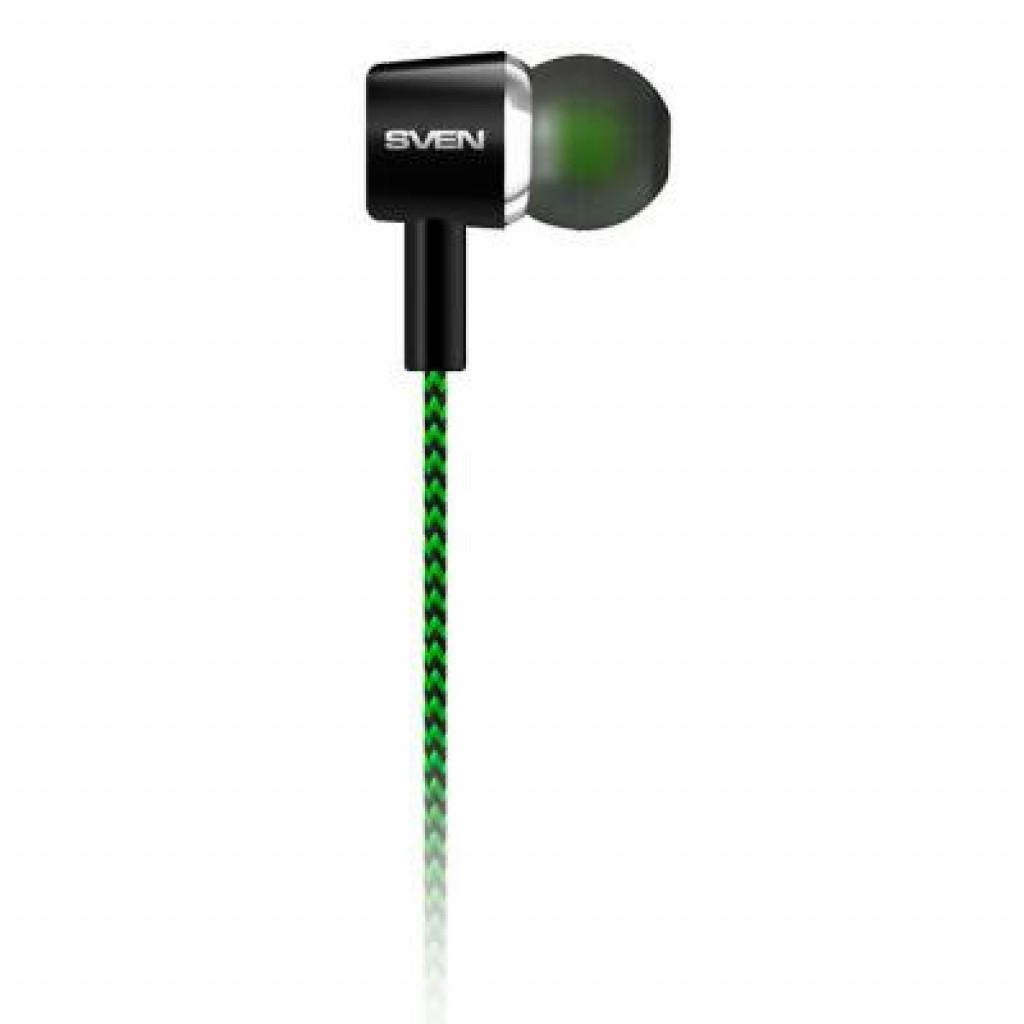 Навушники SVEN E-107 black-green купити в Києві 6daae546ad8ff