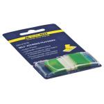 Закладки пластикові Buromax POP-UP Neon 45x25 мм 50 арк Зелений (BM.2309-04)