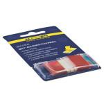 Закладки пластикові Buromax POP-UP Neon 45x25 мм 50 арк Червоний (BM.2309-05)