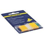 Закладки пластикові Buromax POP-UP Neon 45x25 мм 50 арк Жовтий (BM.2309-08)